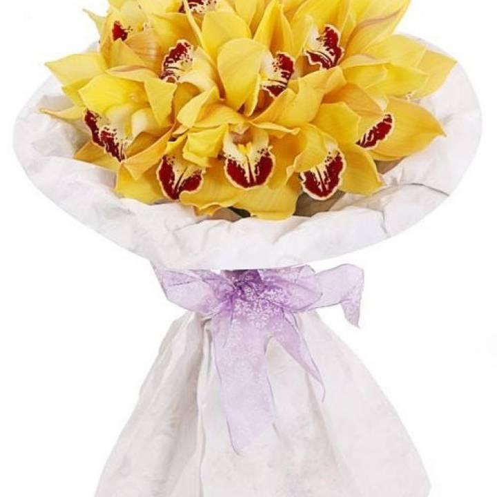 Букет с орхидеями - Экзотика