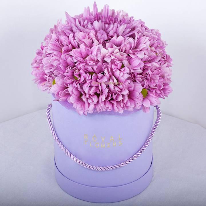 """Шляпная коробка """"Розовая сказка """""""