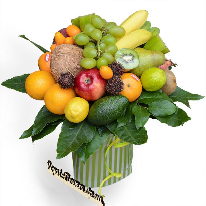 Букет из фруктов № 1 - большой