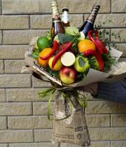 Букет фруктовый №2  - Мужской