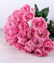 Букет из пионовидной розы №23
