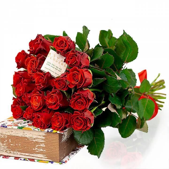 Букет 19 алых роз, Эль Торо