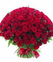 Букет из 151 красной розы