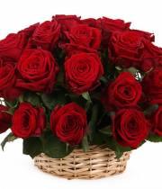 Корзина 39 красных роз