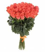 51 оранжевая роза - сорт Вау
