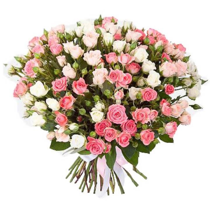 Букет из розы - «Нежная страсть»
