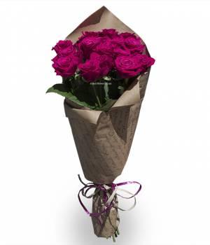 21 малиновая роза - Шангри-Ла