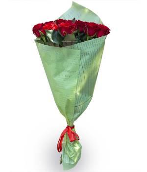 11 красных роз - Ред Игл