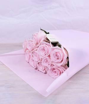 11 нежно розовых роз - Кимберли