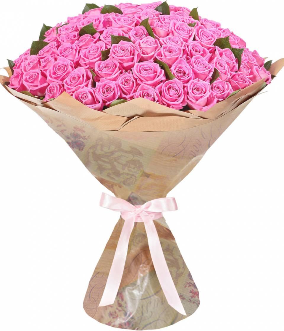 Оригинально букети з троянди, цветов
