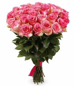39 бело-розовых роз, Джумилия