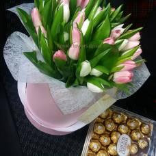 Цветы  и Шоколад с доставкой