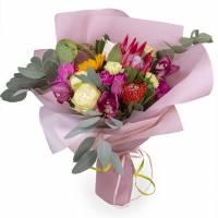 Авторский букет №5 из экзотических цветов