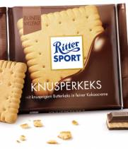 Шоколад Ritter Sport с хрустящей начинкой