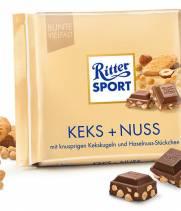 Шоколад Ritter Sport бисквит и орехи