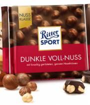 Шоколад Ritter Sport цельный лесной орех