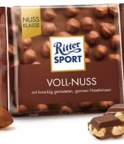 Шоколад Ritter Sport орех и молоко