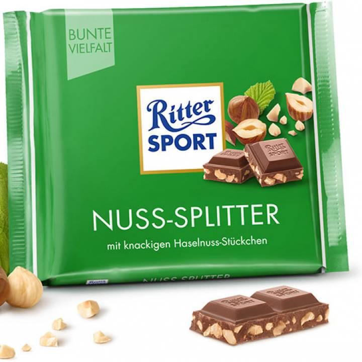 Шоколад молочный Ritter Sport с лесным орехом 100 г