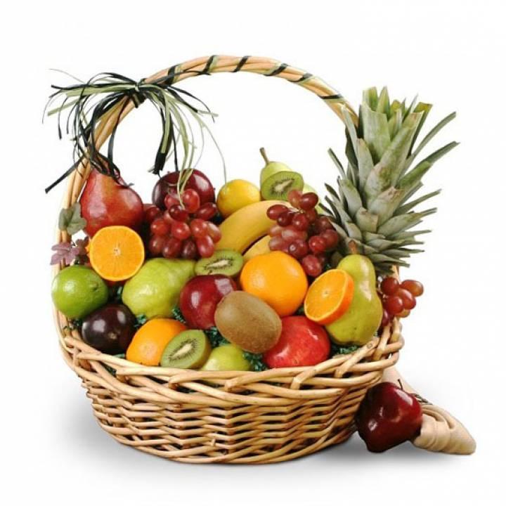 Корзина фруктов - Витамины для счастья