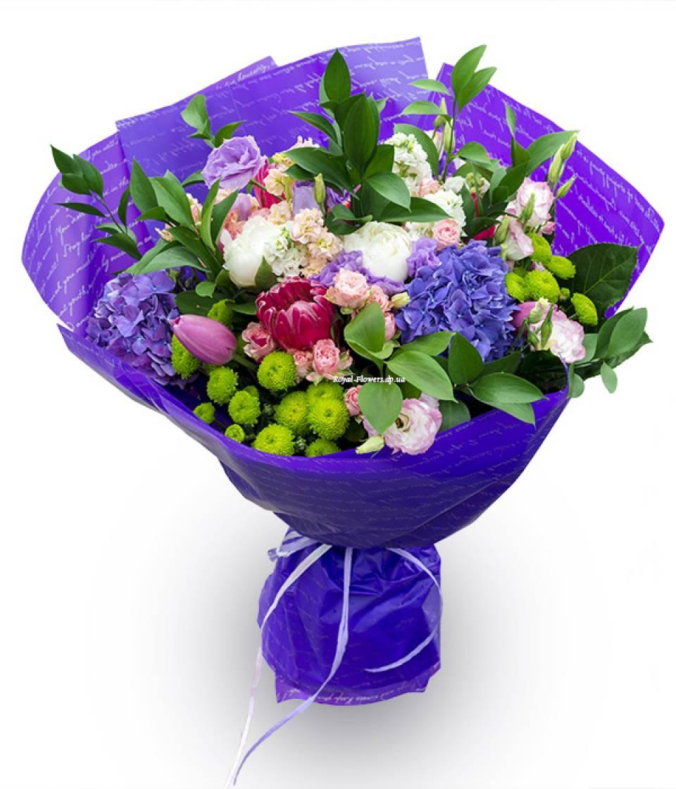Доставка цветов днепр пионы