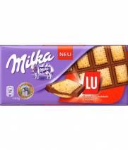 Шоколад Milka с бисквитным печеньем Lu