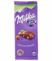 Шоколад Milka молочный с орехом