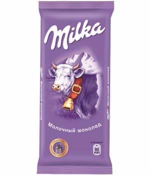 Milka шоколад молочный