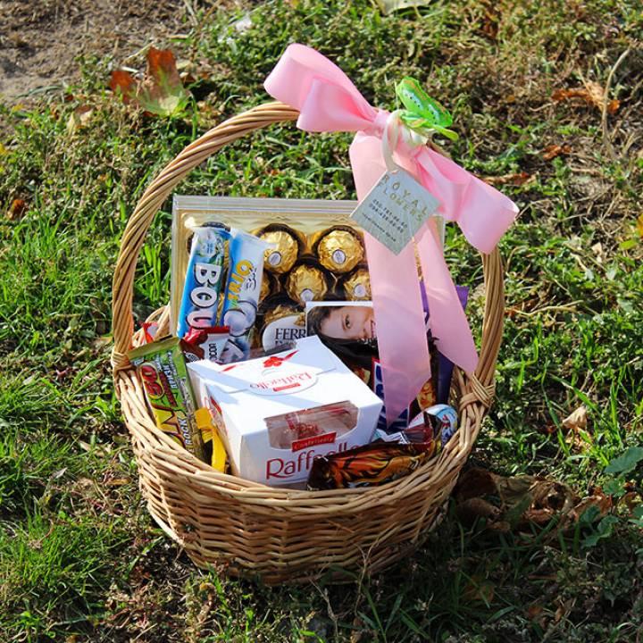 Подарочная корзина № 2 - chocolate