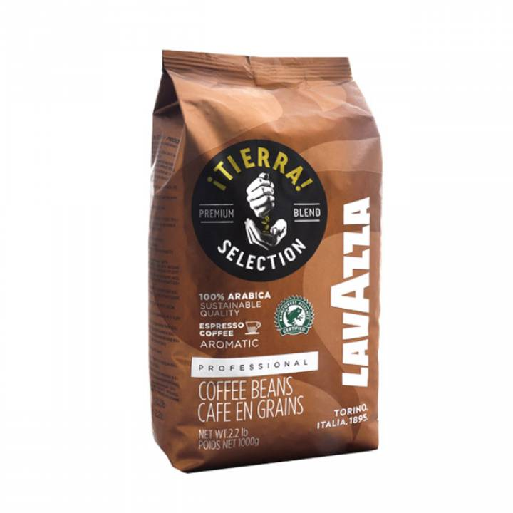 Кофе в зернах Lavazza Tierra 1000 гр