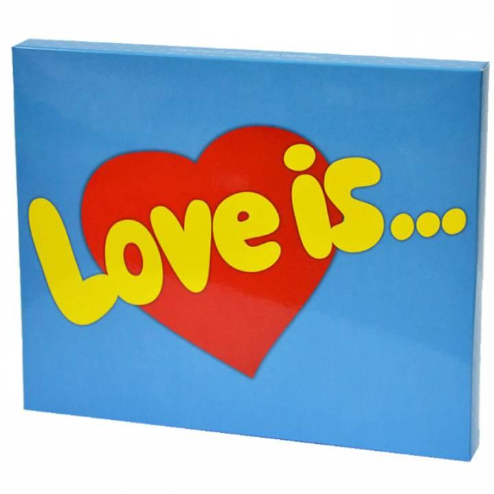 набор конфет  love is