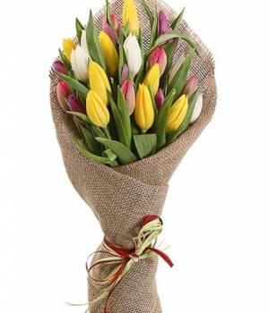 Букет 29 тюльпанов Loft
