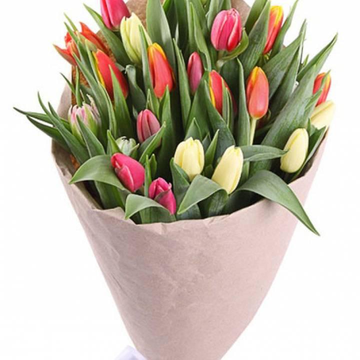 29 тюльпанов Букет - микс